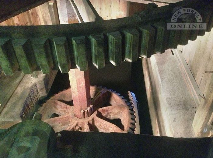 Eling Tide Mill cogs