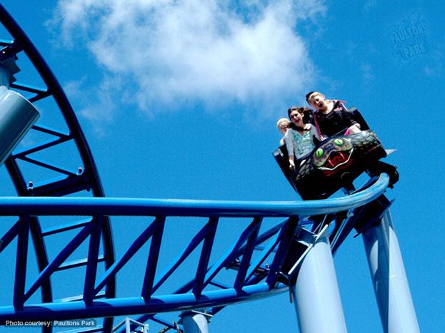 The Cobra Ride at Paultons Park