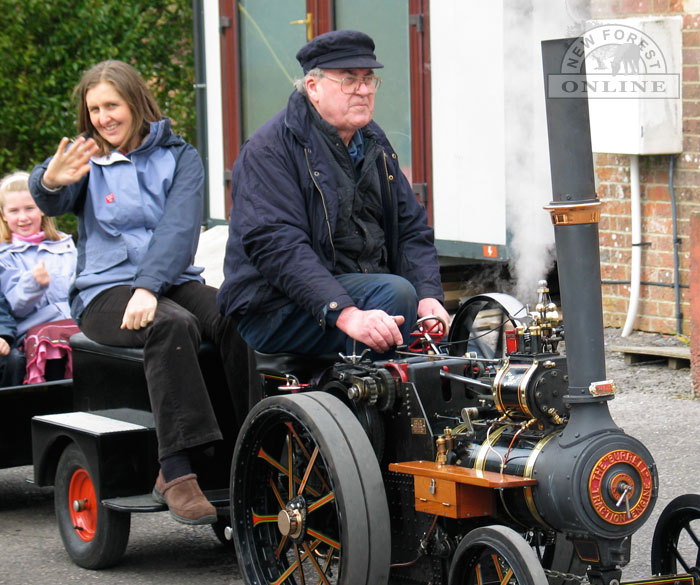 Traction Engine Rides at Sammy Miller's Museum