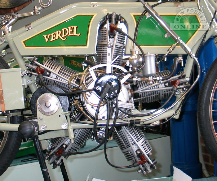 Verdel Motorcycle at Sammy Miller's Museum