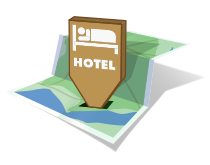 New Forest Accommodation map