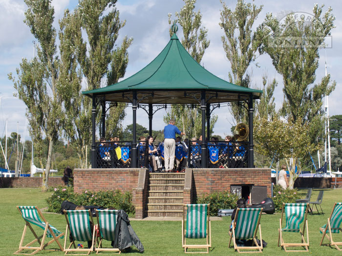 Lymington Bandstand on Bath Road