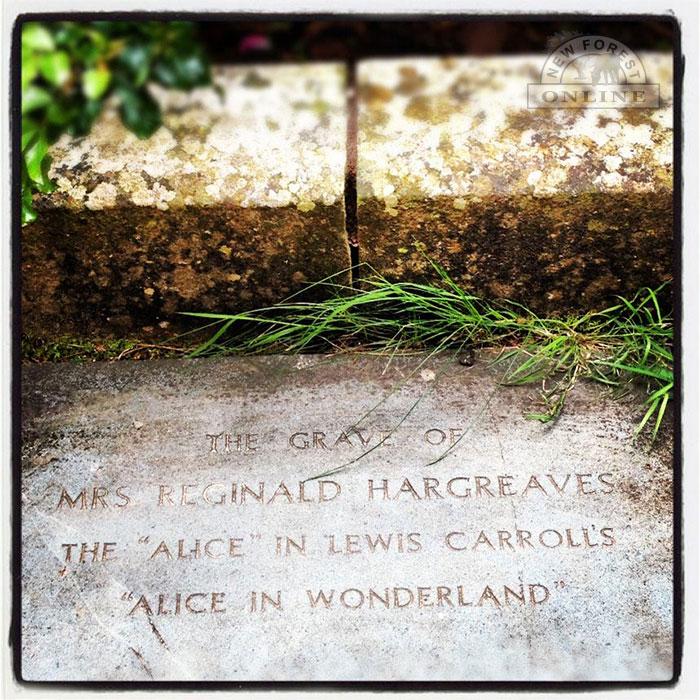 Alice Hargreaves memorial plaque
