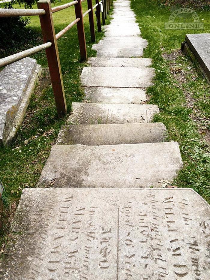 St Michael & All Angels Church Gavestone Steps